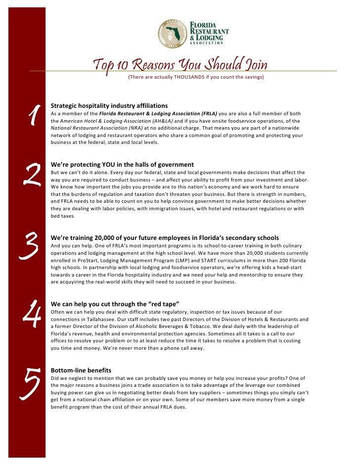 Top 10 Reasons You Should Join                                     (ThereareactuallyTHOUSANDS ifyoucountthesavings)...