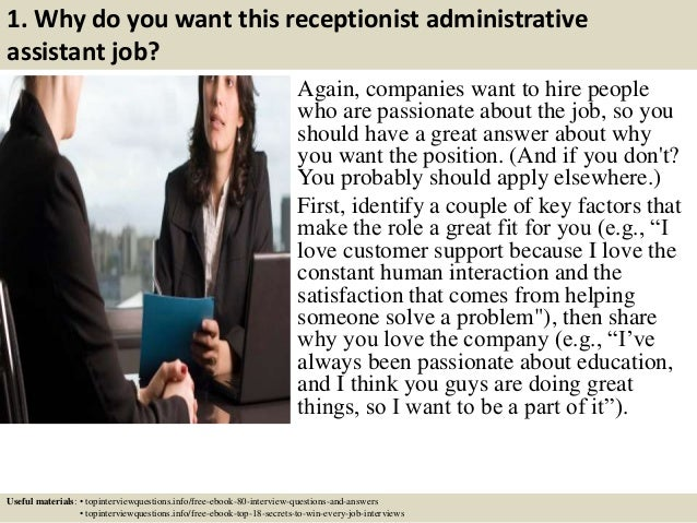 interview questions for executive assistant interview assessment ...