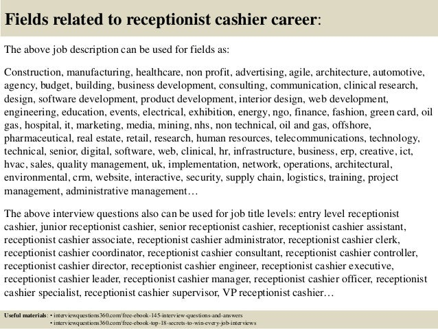 Receptionist Cover Letter Examples Entry Level from image.slidesharecdn.com