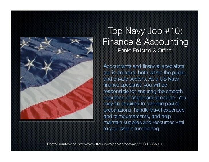 US Navy Careers: Top 10 Recession Proof Navy Jobs