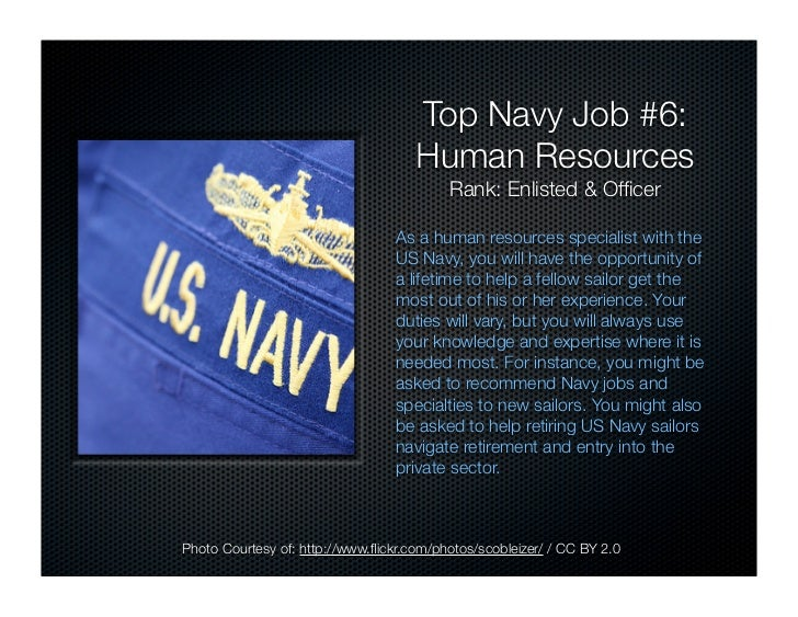 US Navy Careers: Top 10 Recession Proof Navy Jobs