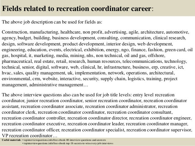 recreation cover letter resume for gym job gymjob careers in the alib