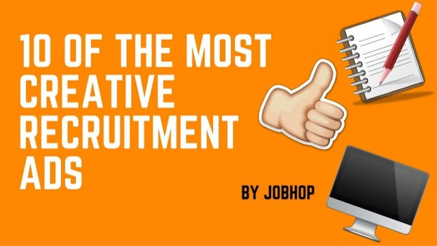 10 Of The Most Creative Recruitment Ads
