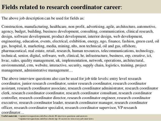Clinical Research Coordinator Resume Break Up Us  Research Coordinator Resume