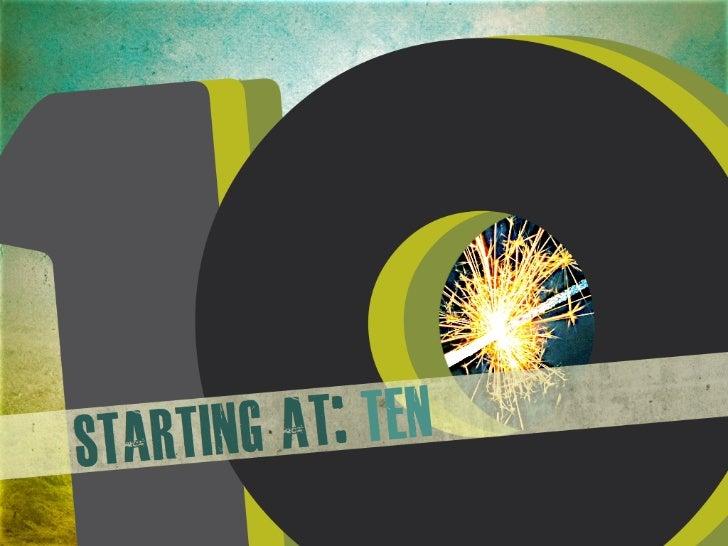 Top 10 Resolutions 2012 - #resolutions #newyears Slide 2