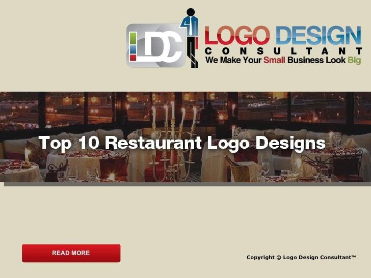 Top 10 restaurant logo designs for Design consultant