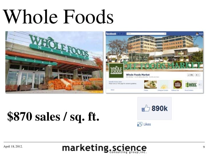 Whole Foods Sales Sq Ft