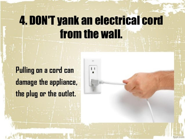 Top 10 Rules For Electric Safety on repair electrical outlet