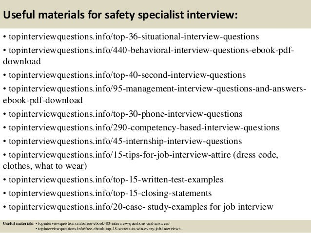 safety interview questions pdf download