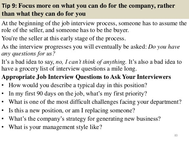 project coordinator interview questions pdf
