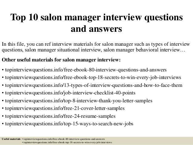 top10salonmanagerinterviewquestionsandanswers1638jpgcb 1428032418 – Salon Manager Job Description