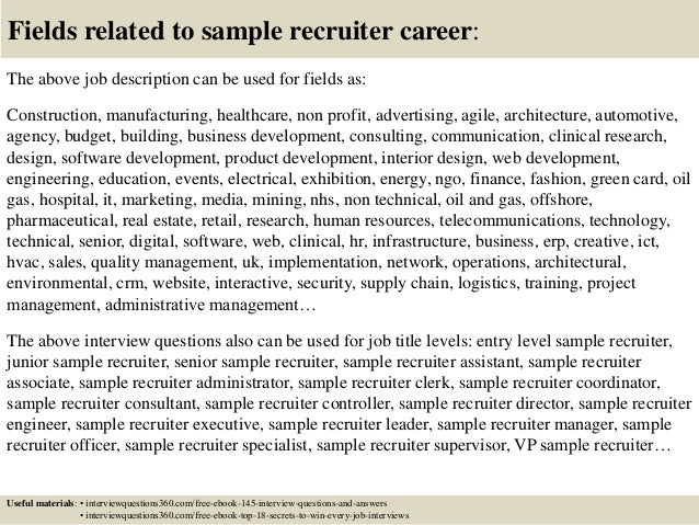 interview questions and answers samples