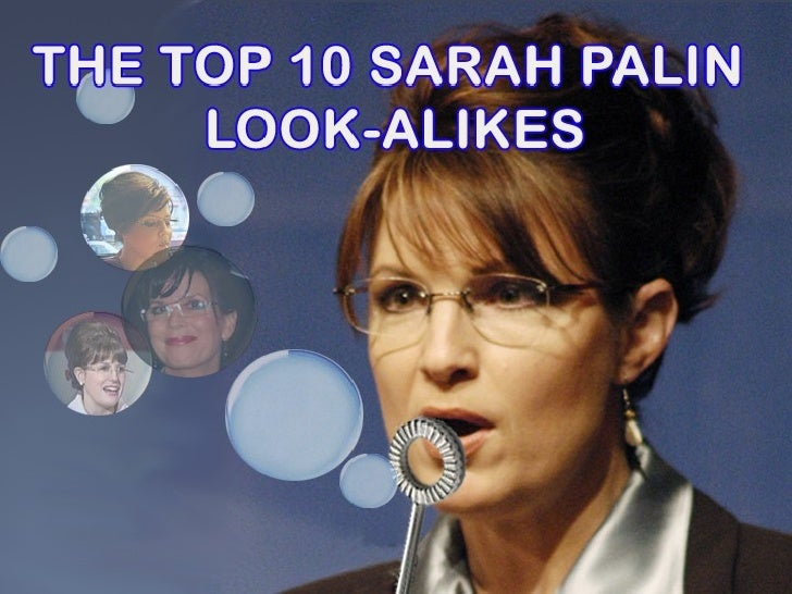 Top 10 Sarah Palin Look Alikes