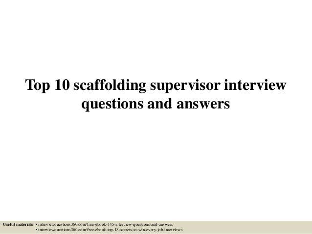 Scaffold test answers ebook intermediate questions u0026 answers 171208 scaffold training array top 10 scaffolding supervisor interview questions and answers rh slideshare net fandeluxe Gallery