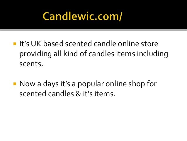 Best selling scented candles sites in uk 2015 for Top selling candle fragrances
