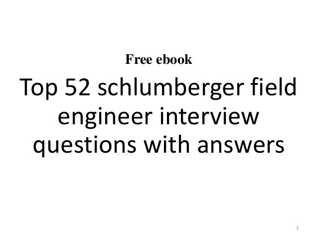 Schlumberger Recruitment Process