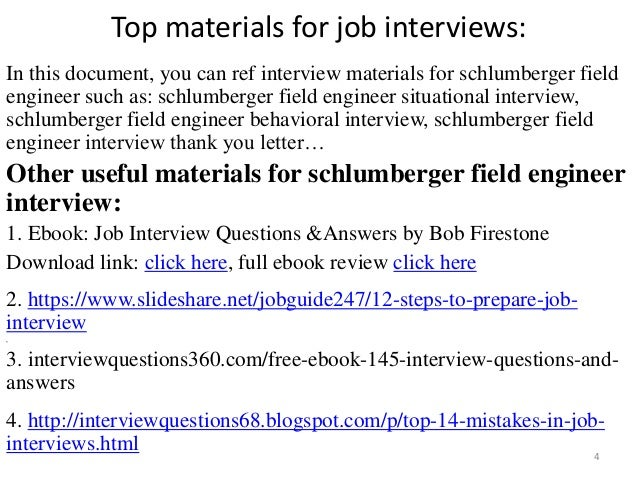 Top 52 schlumberger field engineer interview questions and answers pdf top materials fandeluxe Gallery
