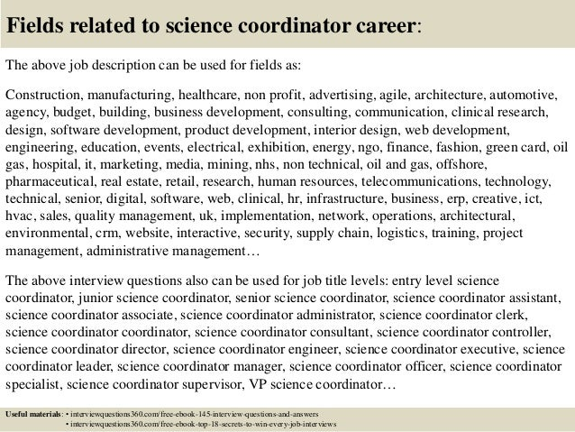 18 - Executive Coordinator Interview Questions And Answers