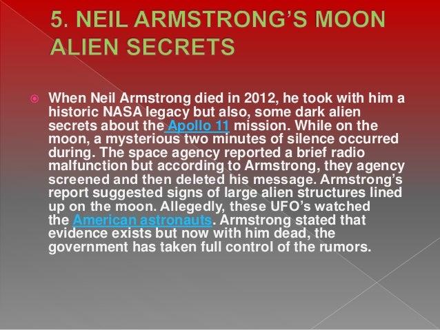 Top 10 secrets nasa knows about ufo