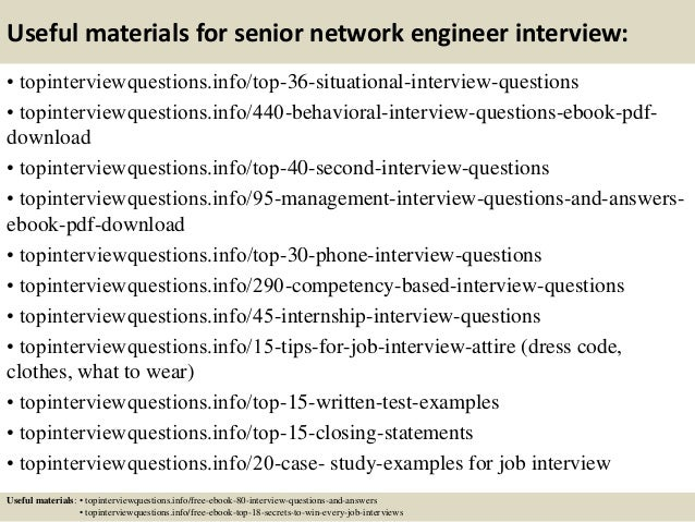 Network Engineer Interview Questions Answers Pdf