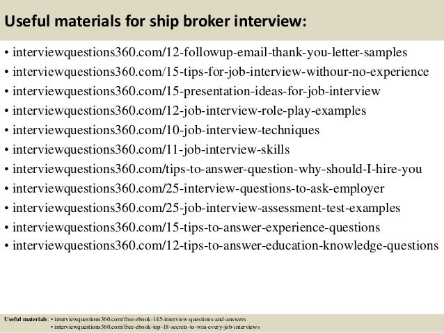 Ship Broker Cover Letter. Sample Email Cover Letter ...