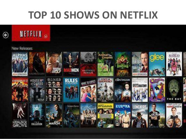 TOP 10 SHOWS ON NETFLIX