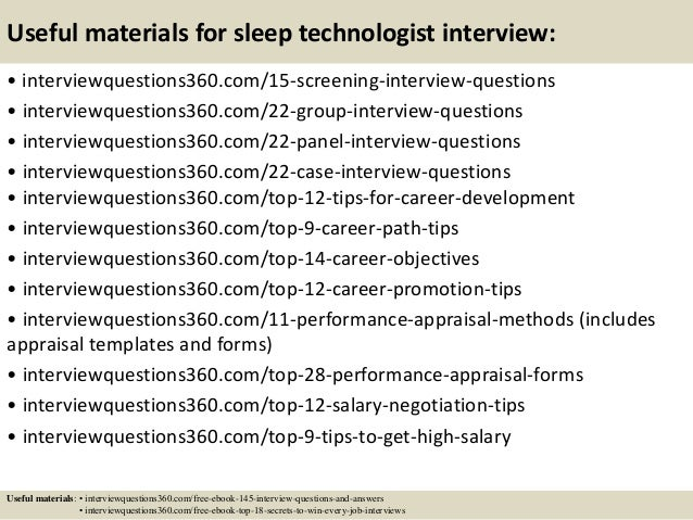 Great ... 16. Useful Materials For Sleep Technologist ...