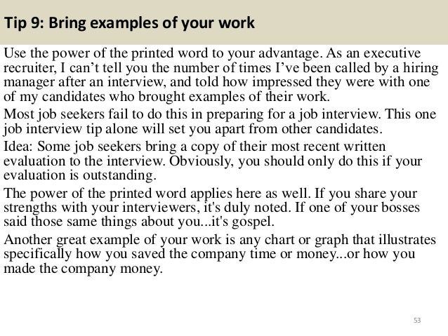 52 53 - What Is Your Ability To Work Without Supervision Interview Question And Answers