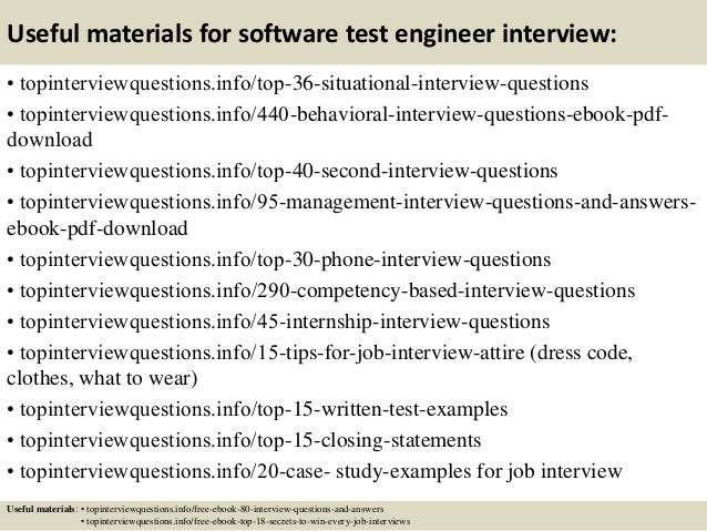 12 useful materials for software test engineer mechanical test engineer - Powertrain Test Engineer Sample Resume