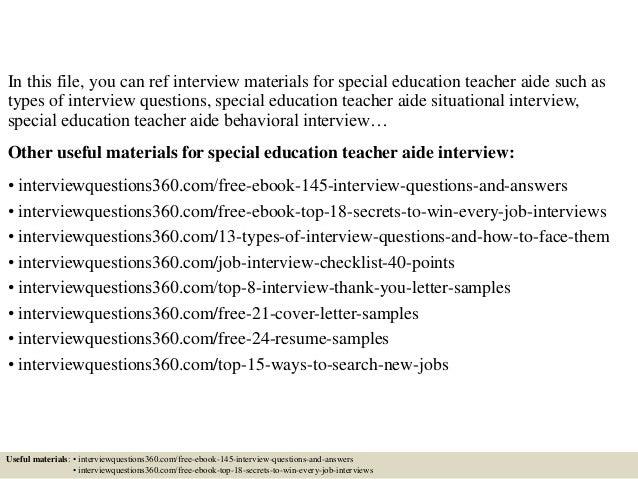 application letter for special education teacher help