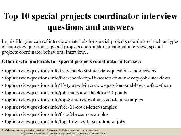 project management coordinator