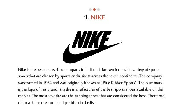 Top 10 Sports Shoe Brands In India