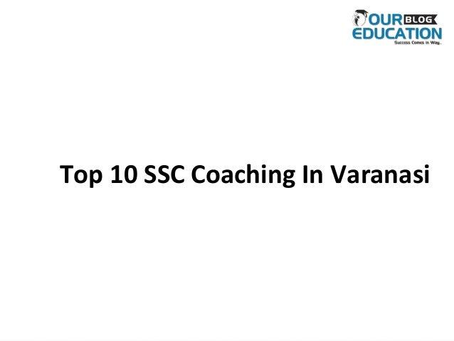 Top 10 SSC Coaching In Varanasi