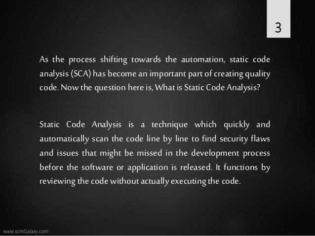 Top 10 static code analysis tool Slide 3
