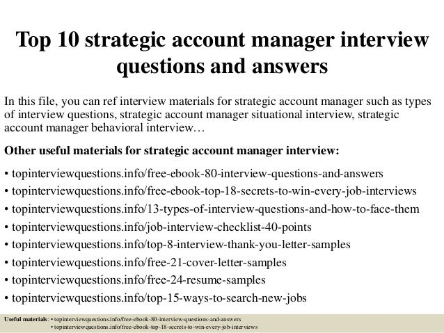 situational based interview questions