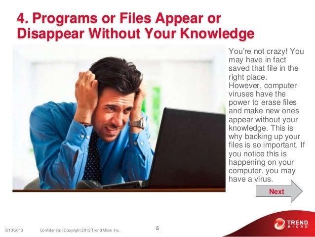 Top 10 Symptoms of a Computer Virus