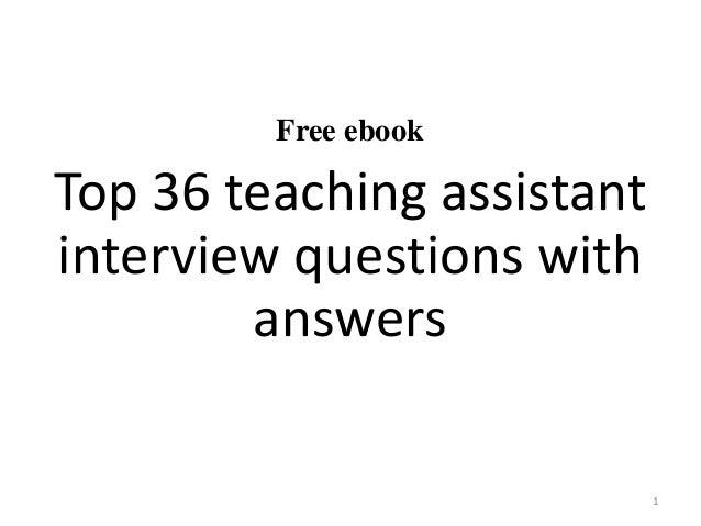 Letter Of Interest For Teacher Assistant from image.slidesharecdn.com