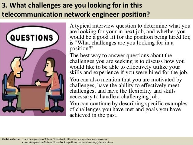 Top 10 telecommunication network engineer interview questions and ans…