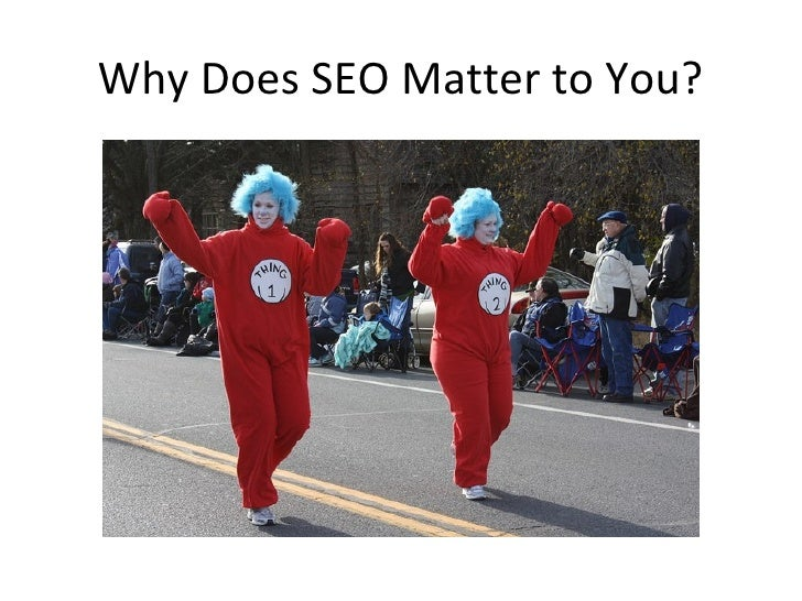 Top 10 Things to Know About SEO slideshare - 웹