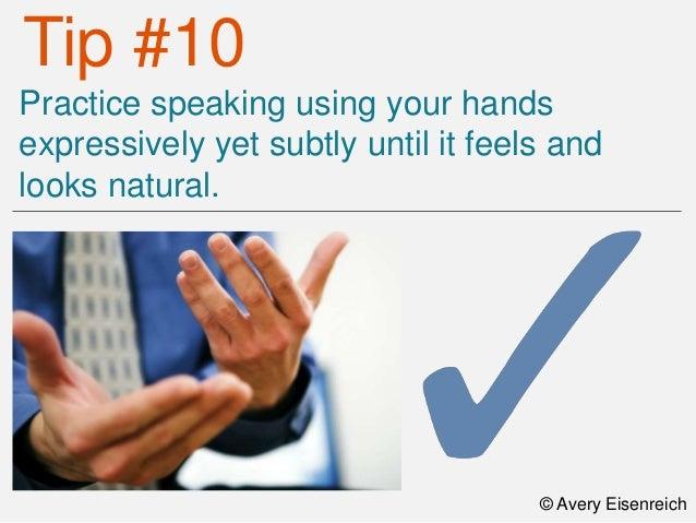 Top Ten Body Gestures Tips
