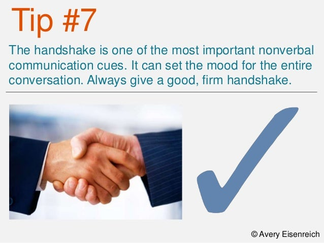 Top Ten Body Language Tips