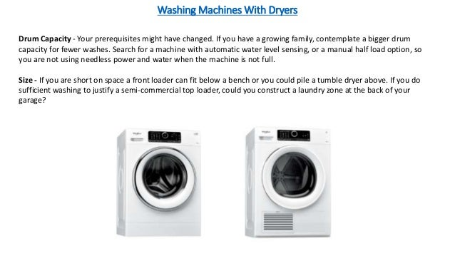 Top 10 Tips For People Who Wish To Buy A Washing Machine