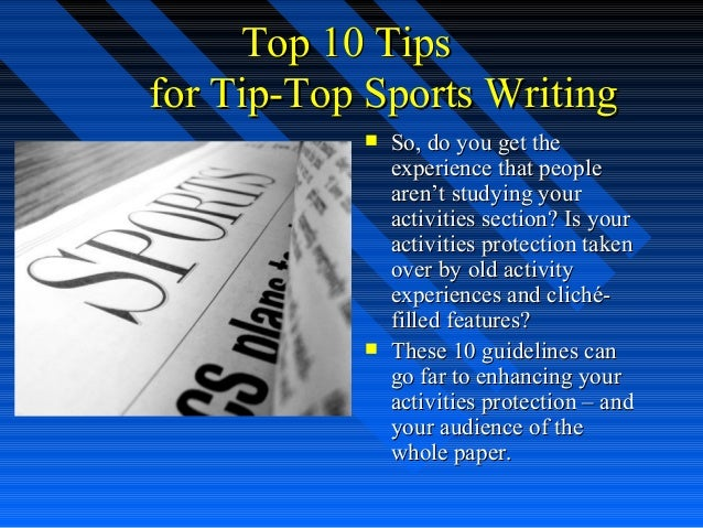 top ten writing tips Some ideas and advice to enhance your music writing experience: write the lyrics for your song many musicians write their own melodies as well as the lyrics if you.
