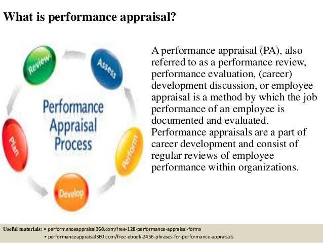 importance of performance appraisal in an organisation pdf