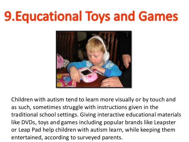 Top 10  Toys and Gifts for Children with Autism Slide 3
