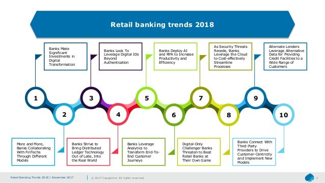 Technology Management Image: Top-10 Technology Trends In Retail Banking: 2018
