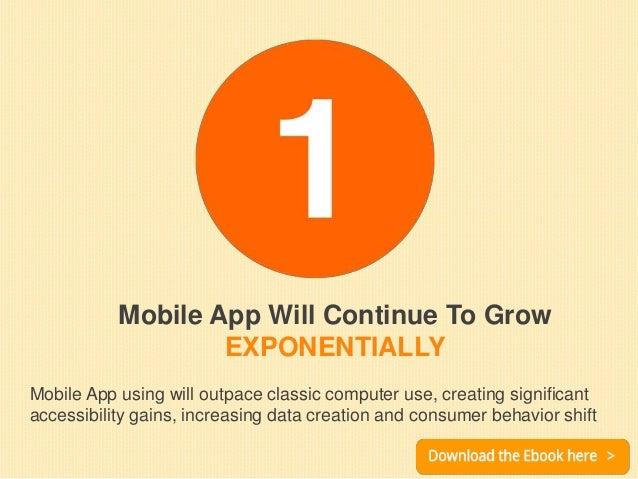 Top 07 emerging trends of mobile application development 2015-2016 Slide 3