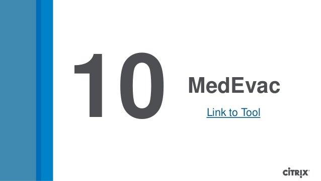 MedEvac10 Link to Tool