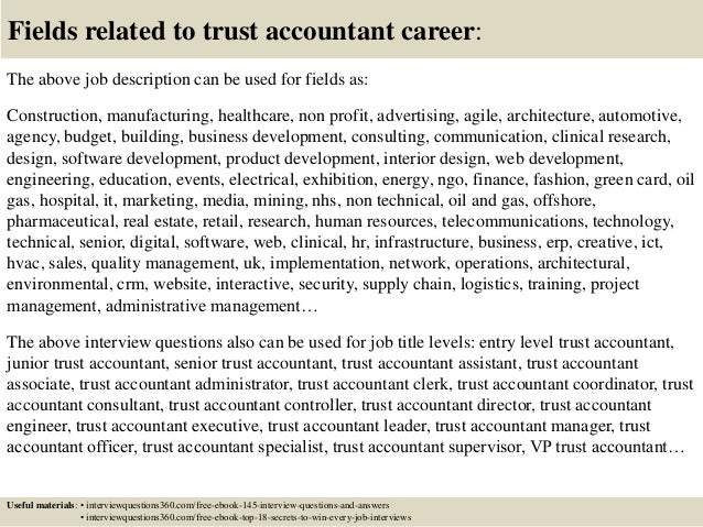 trust accountant cover letter small business controller cover letter