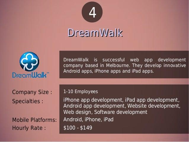 Top 10 Trusted Mobile App Development Companies In Australia